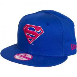 New Era 9FIFTY Cap Character Colour Supergirl blau/pink