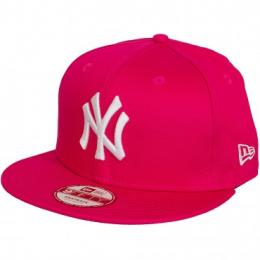 New Era 9Fifty Snapback Cap League Essential NY Yankees pink/weiß