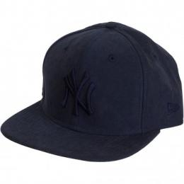 New Era 9Fifty Snapback Cap Leather NY Yankees dunkelblau
