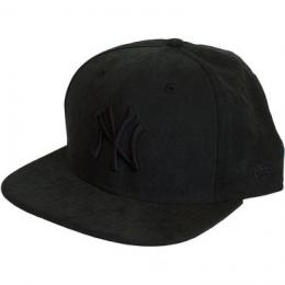 New Era 9Fifty Snapback Cap Leather NY Yankees schwarz