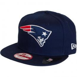 New Era 9Fifty Snapback Cap Logo Prime New England Patriots dunkelblau