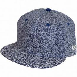 New Era 9Fifty Snapback Cap Speckle dunkelblau/weiß