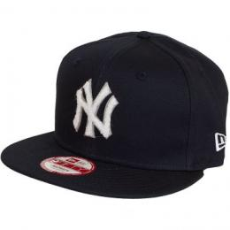 New Era 9Fifty Snapback Cap Team Chenille NY Yankees schwarz