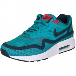 Nike Damen Sneaker Air Max 1 Breathe teal/white/red