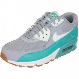 Nike Damen-Sneaker Air Max 90 Essential grau/teal