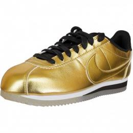 Nike Damen Sneaker Classic Cortez Leather SE metal gold