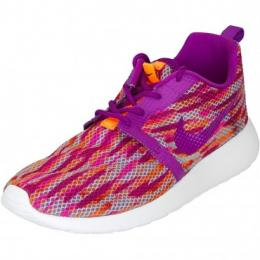 Nike Damen Sneaker Roshe Run Flight Weight orange/berry