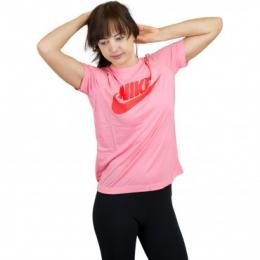Nike Damen T-Shirt Essential rosa/orange