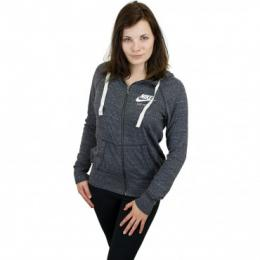 Nike Damen Zip-Hoody Gym Vintage anthrazit