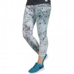 Nike Leggings  Club Printed Cropped fuchsiaglow/schwarz