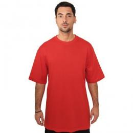 T-shirt Urban Classics Tall red